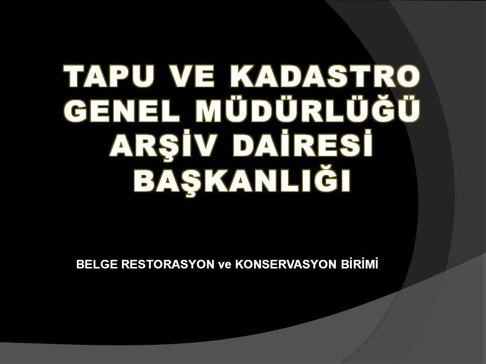 BELGE RESTORASYON ve KONSERVASYON BİRİMİ