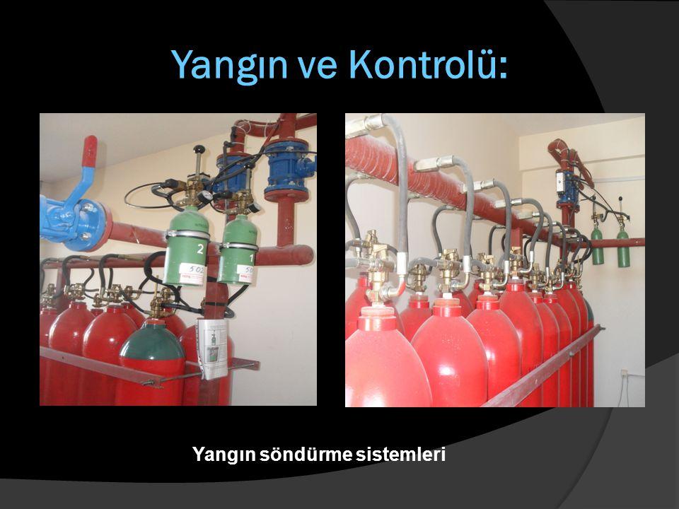 Yangın ve Kontrolü: Yangın söndürme sistemleri