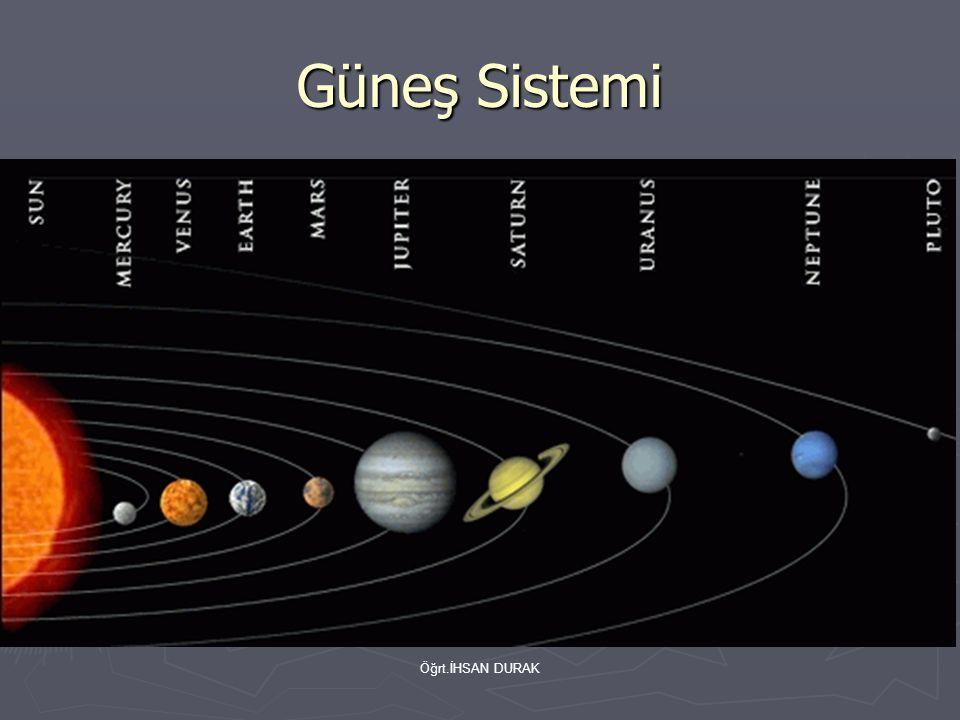 Öğrt.İHSAN DURAK Güneş Sistemi
