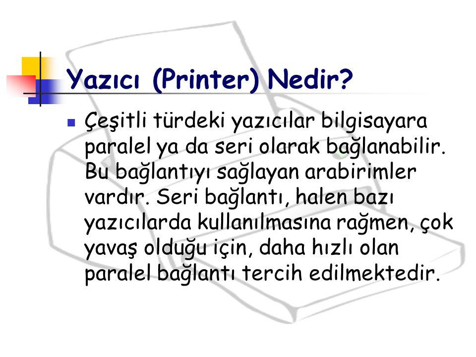 Sıklıkla Lazer yazıcı üreticileri Fotokopi makinesi üreticilerinin mekanizmalarını kullanırlar.