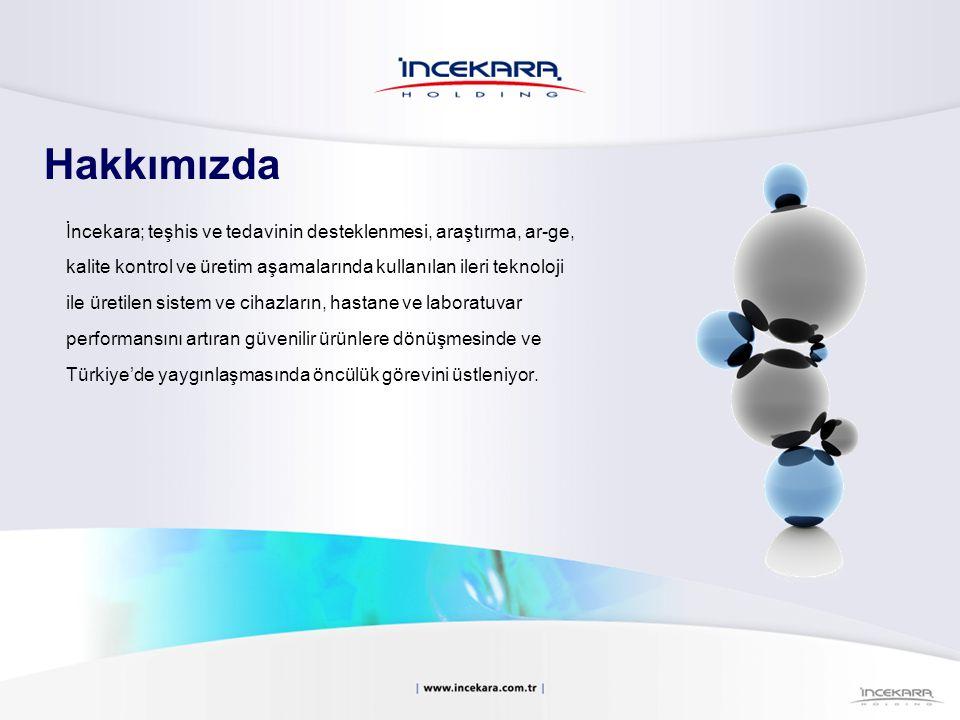 Hakkımızda İncekara; teşhis ve tedavinin desteklenmesi, araştırma, ar-ge, kalite kontrol ve üretim aşamalarında kullanılan ileri teknoloji ile üretile