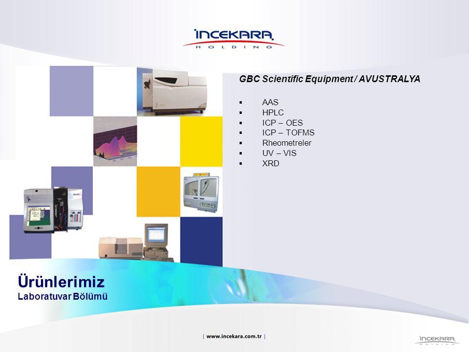 Ürünlerimiz Laboratuvar Bölümü GBC Scientific Equipment / AVUSTRALYA  AAS  HPLC  ICP – OES  ICP – TOFMS  Rheometreler  UV – VIS  XRD