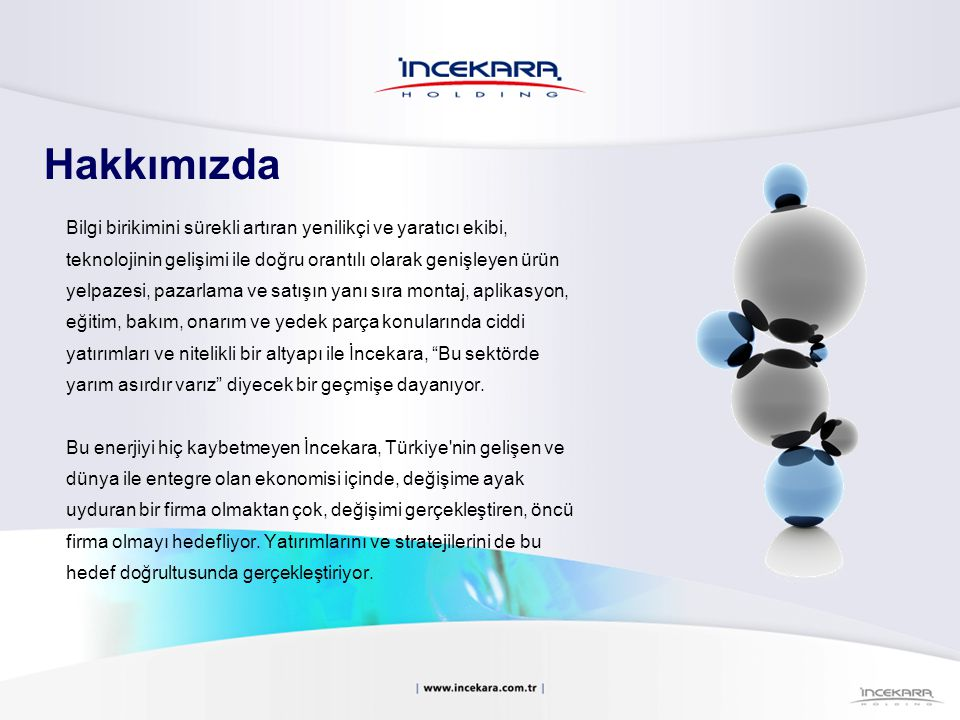 Firma Ünvanı:İncekara Holding A.Ş.Kuruluş Tarihi:08 Ağustos 1951 Merkez Ofisi:25.