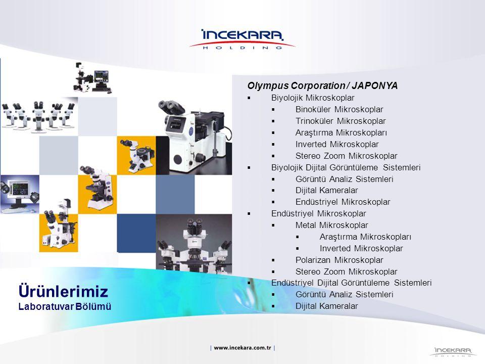Olympus Corporation / JAPONYA  Biyolojik Mikroskoplar  Binoküler Mikroskoplar  Trinoküler Mikroskoplar  Araştırma Mikroskopları  Inverted Mikrosk