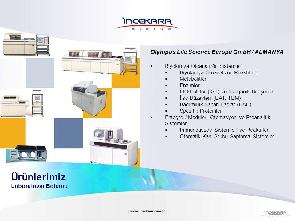 Olympus Life Science Europa GmbH / ALMANYA  Biyokimya Otoanalizör Sistemleri  Biyokimya Otoanalizör Reaktifleri  Metabolitler  Enzimler  Elektrol