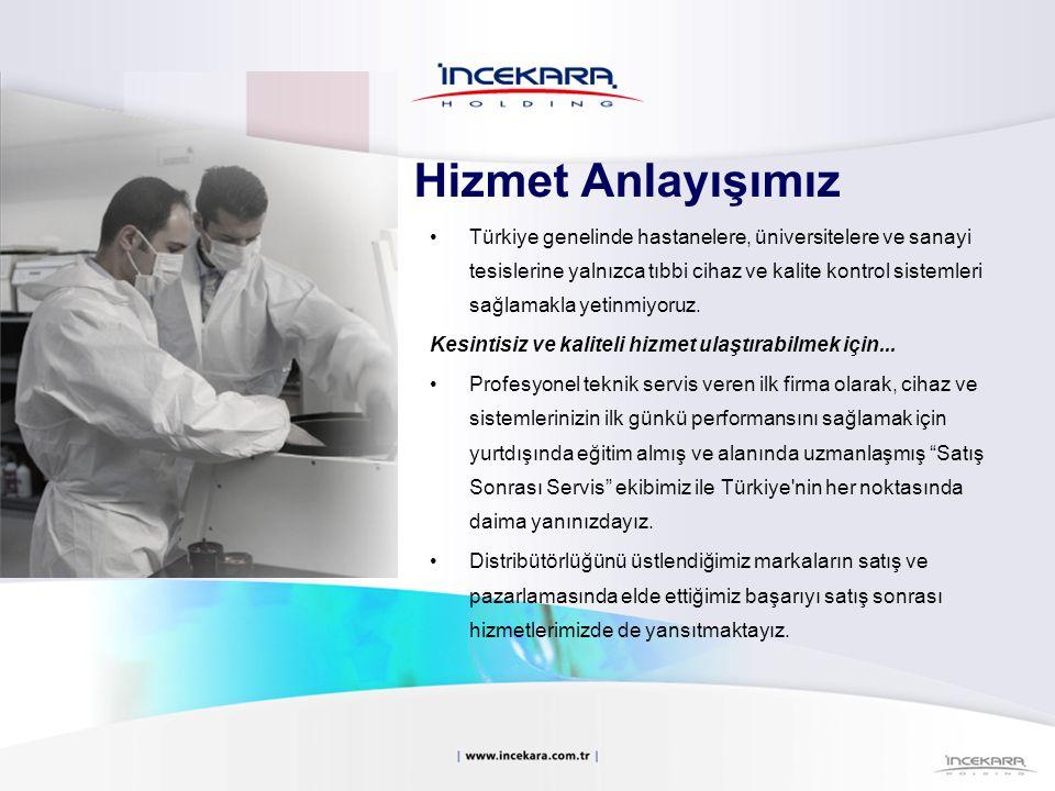 Türkiye genelinde hastanelere, üniversitelere ve sanayi tesislerine yalnızca tıbbi cihaz ve kalite kontrol sistemleri sağlamakla yetinmiyoruz. Kesinti