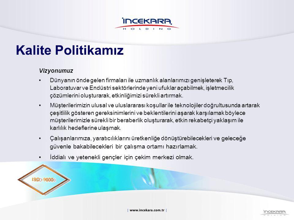 Firma Ünvanı:İncekaralar Tıbbi Cihazlar Danışmanlık Proje ve Tic.