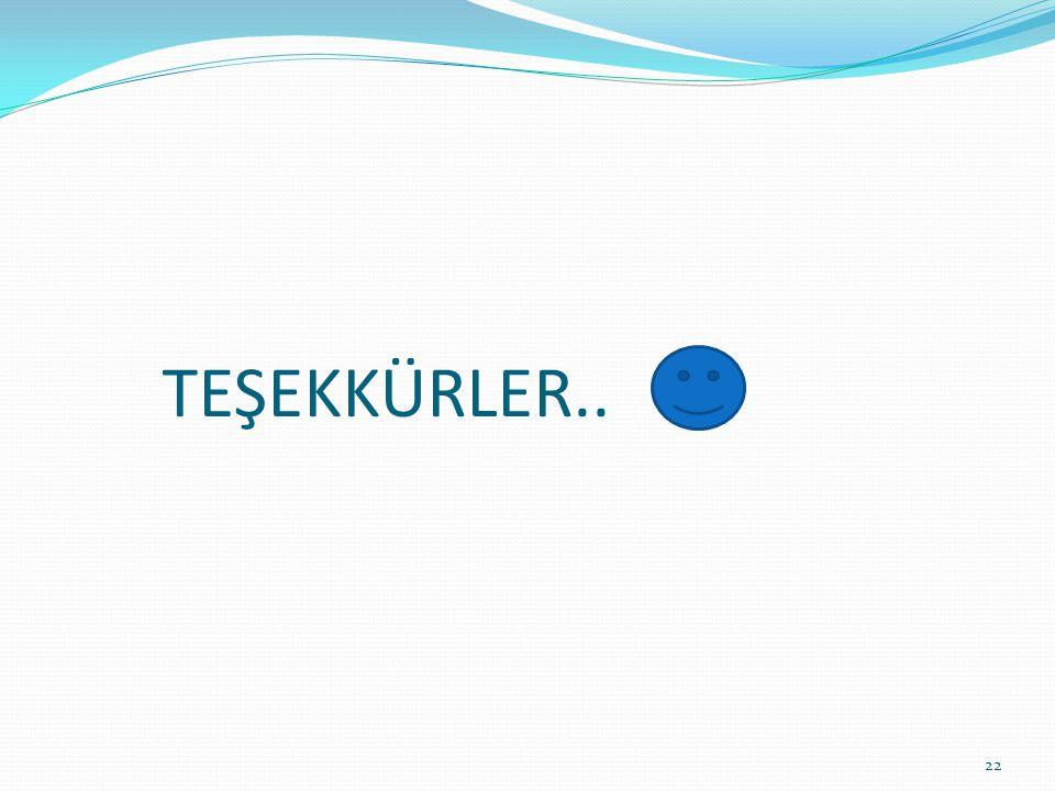 TEŞEKKÜRLER.. 22
