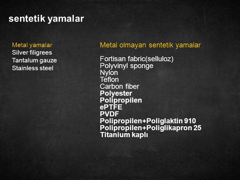 14 Vypro (Ethicon) Polipropilen 50% Poliglaktin 910 50% Por genişliği > 4mm Esnek Dayanıklı Yarı emilebilen Hafif 25 g/m² Sütür ile tespit