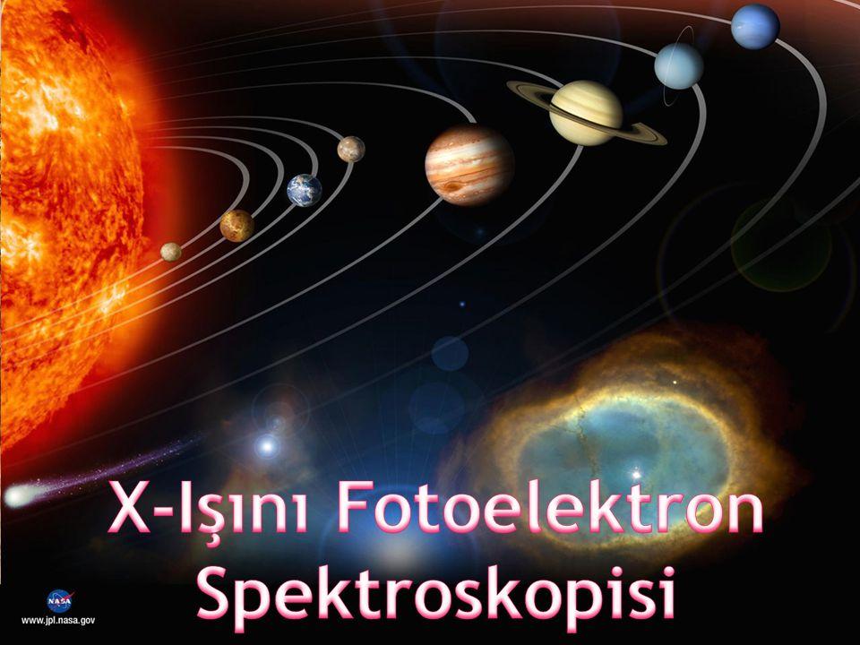  X-ışını fotoelektron spektroskopisi (XPS) malzemenin yüzeyi ile ilgili olarak atomik ve moleküler bilgi sağlanması amacıyla kullanılan sayısal bir analiz tekniğidir.