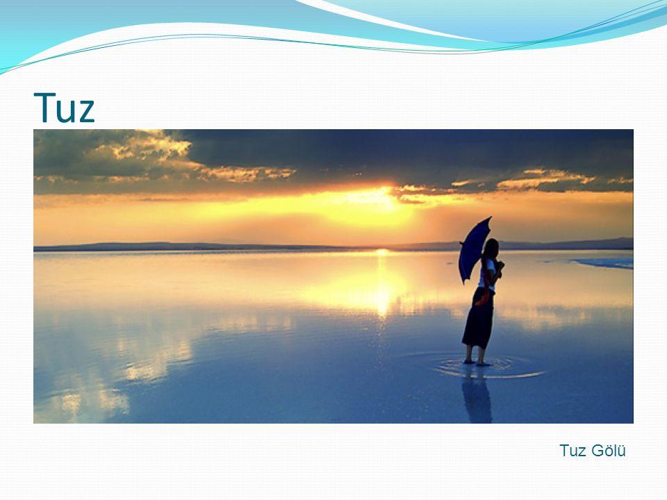 Tuz Tuz Gölü