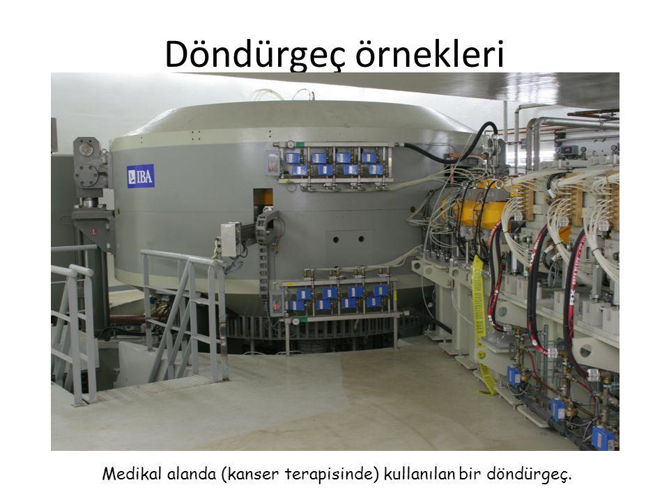 Döndürgeç örnekleri Medikal alanda (kanser terapisinde) kullanılan bir döndürgeç.