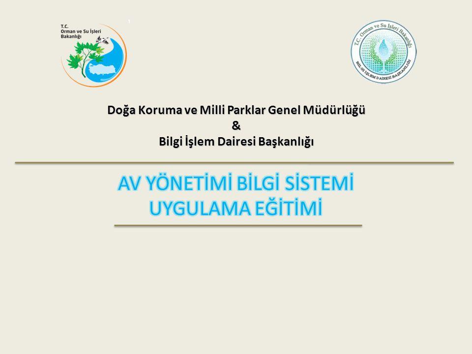 Doğa Koruma ve Milli Parklar Genel Müdürlüğü & Bilgi İşlem Dairesi Başkanlığı