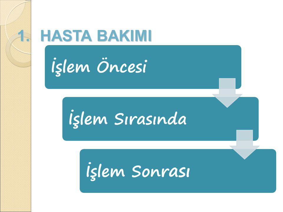 1. HASTA BAKIMI