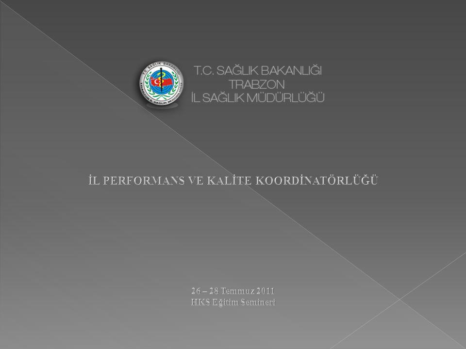 EĞİTİM TARİHİEĞİTİM SAATİEĞİTİM KONUSUEĞİTMEN 26 Temmuz 2011 09.00-09.45 Hastanelerde Kalite Yönetimi, HKS ile ilgili mevzuatlar Ecz.