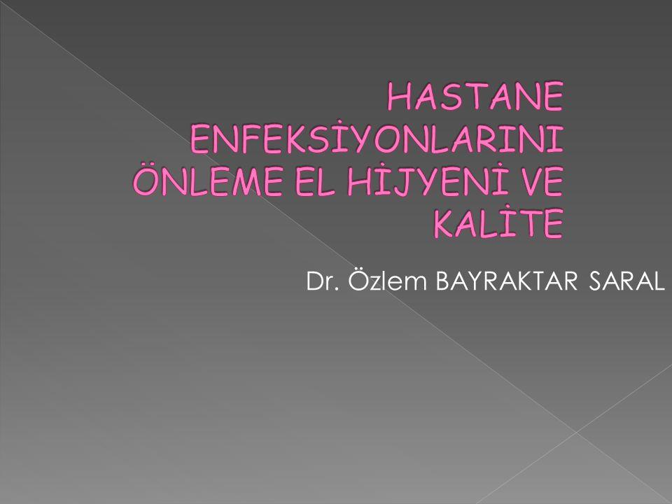 Dr. Özlem BAYRAKTAR SARAL