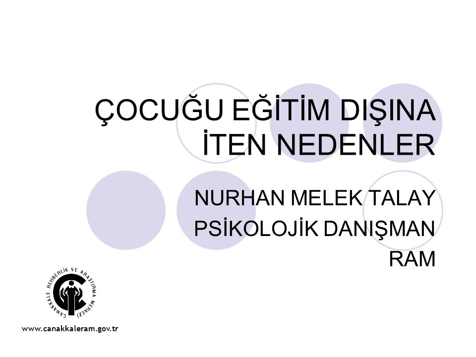 RİSK GRUPLARININ BELİRLENMESİ Türkiye'de risk altındaki çocukların özellikleri şu şekilde sıralanabilir: 9 milyon 300 bin çocuk yoksulluk içinde yaşıyor.