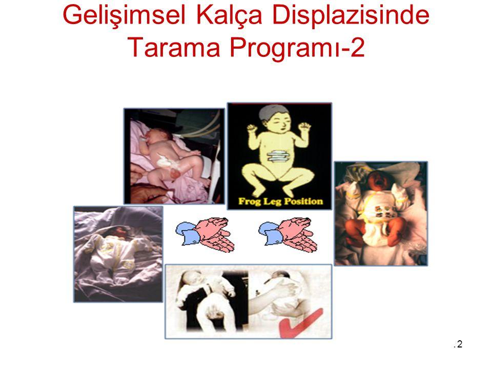 12 Gelişimsel Kalça Displazisinde Tarama Programı-2