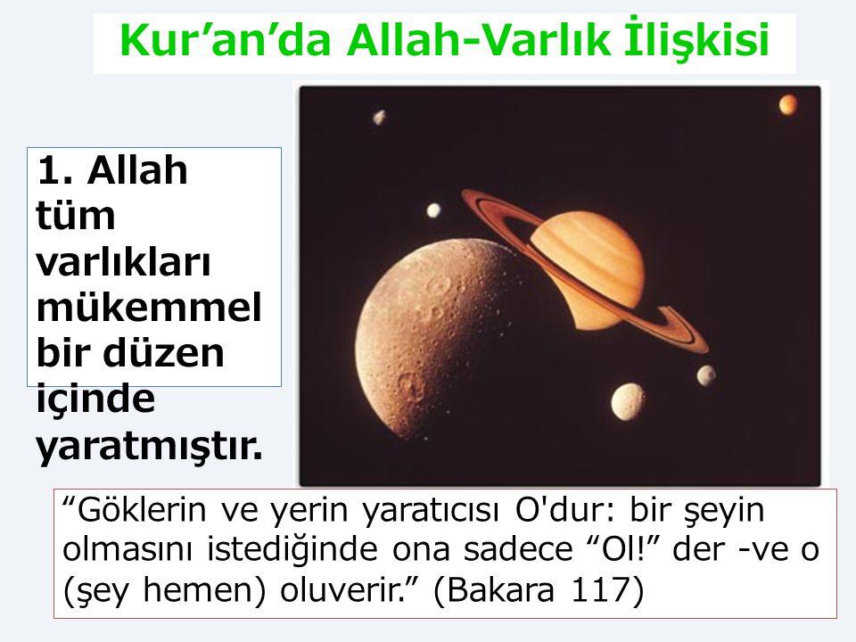 2. Tasavvufî Düşüncede Allah-Varlık İlişkisi Allah – Varlık ilişkisi düşünce tarihinde en fazla tartışılan konulardan biridir.