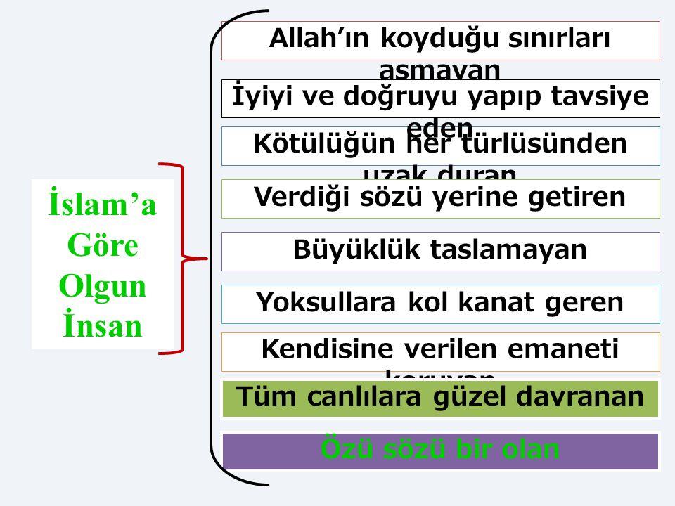 """21 İslam Ahlakı Kur'an Hz. Muhammed """"İman etmedikce cennete giremezsiniz. Birbirinizi sevmedikçe de iman etmiş sayılmazsınız."""" (Hadis) """"GERÇEK ŞU Kİ,"""