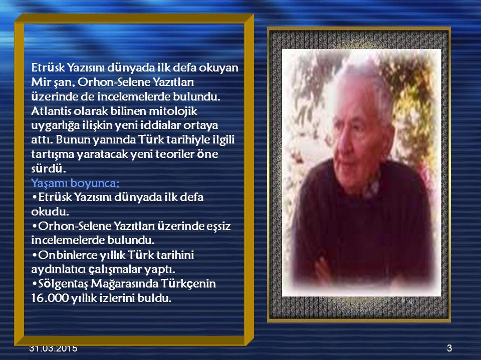 31.03.20154 Çeşitli Savları * Yazı M.Ö 16.000 yılında Türkler tarafından icat edildi.