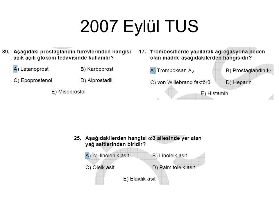 2007 Eylül TUS