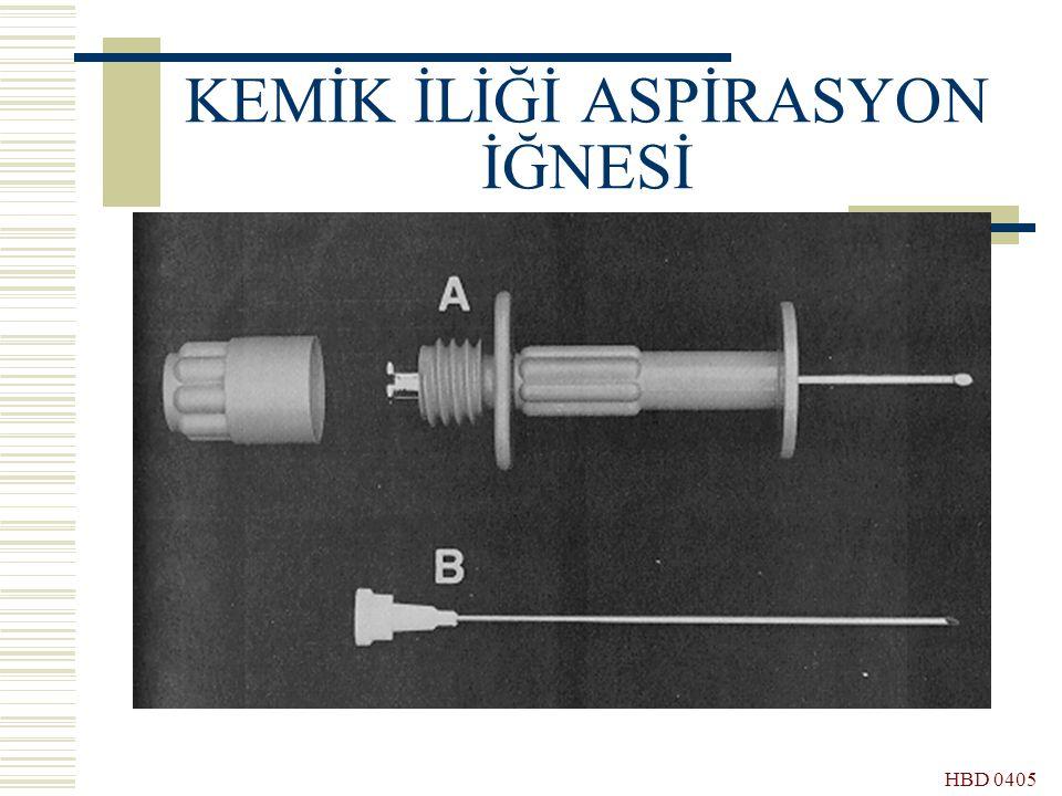 HBD 0405 KEMİK İLİĞİ ASPİRASYON İĞNESİ