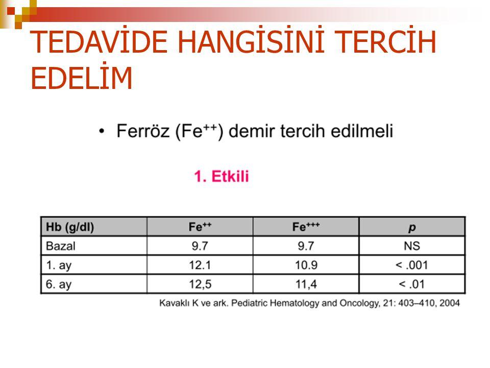 TEDAVİDE HANGİSİNİ TERCİH EDELİM
