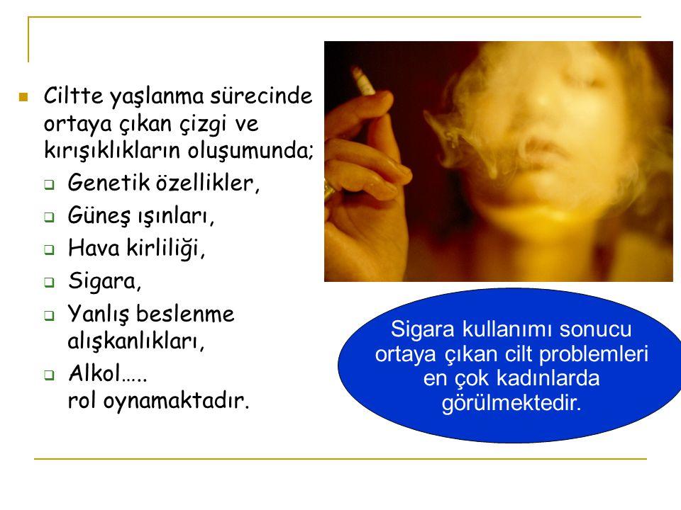 Sigaranın iç organlardaki etkileri, deriye etkilerinden daha iyi bilinmektedir.