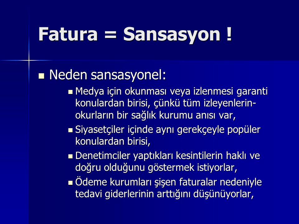 Fatura = Sansasyon .