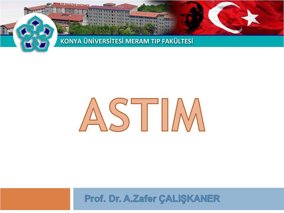 Prof. Dr. Zafer ÇALIŞKANER Kontrole dayalı tedavi yaklaşımı