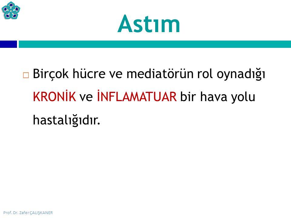  Kontrol edici = ANTİİNFLAMATUVAR ilaçlar  İnhale ve sistemik steroidler  Lökotrien reseptör antagonistleri  Uzun etkili teofilin  Kromonlar  Uzun etkili beta-2 agonistler  Semptom giderici = BRONKODİLATÖR ilaçlar  Kısa etkili beta-2 agonistler  Teofilinler (İ.V.