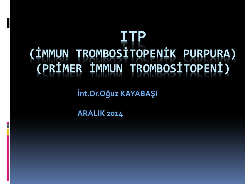 İnt.Dr.Oğuz KAYABAŞI ARALIK 2014
