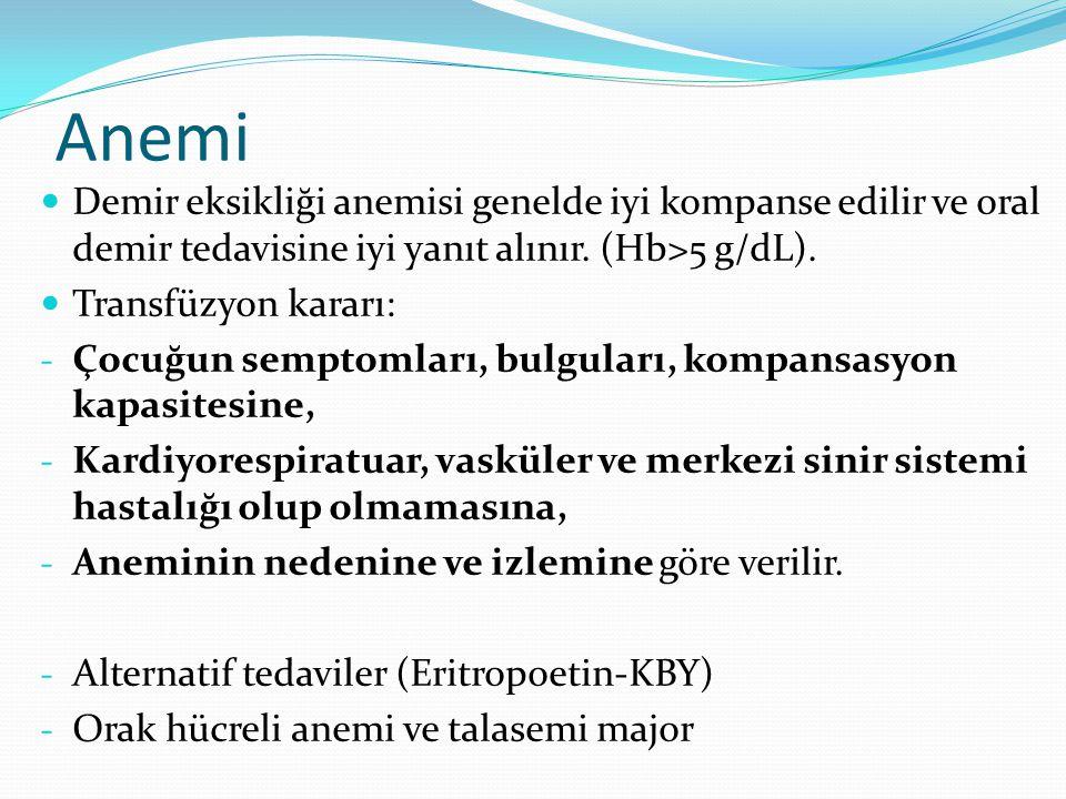 Yenidoğan Fötal Hb var.Oksijen tutma kapasitesi yüksek.
