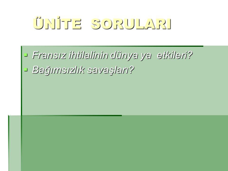 İÇERİK SORULARI İÇERİK SORULARI  Atatürk ilkelerinin ortak özelliklerini yazınız.