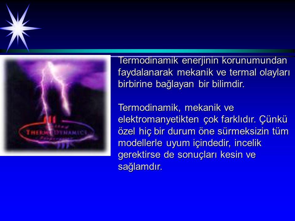 Entropi iş yapma yeteneği olmayan enerji olarak da tanımlanır.