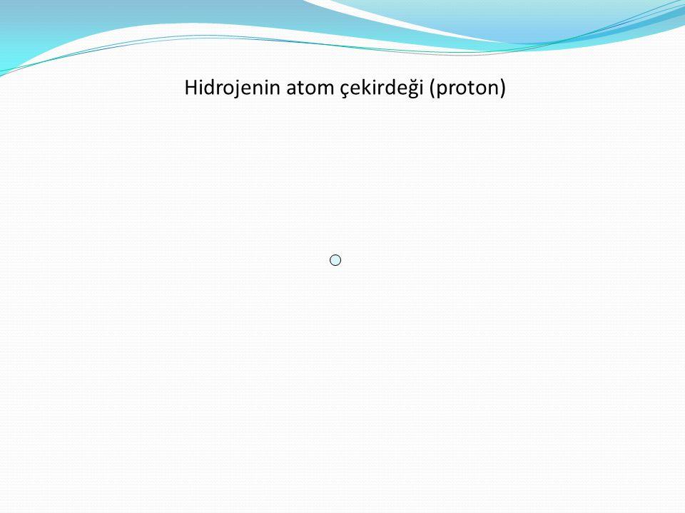 Hidrojenin atom çekirdeği (proton)