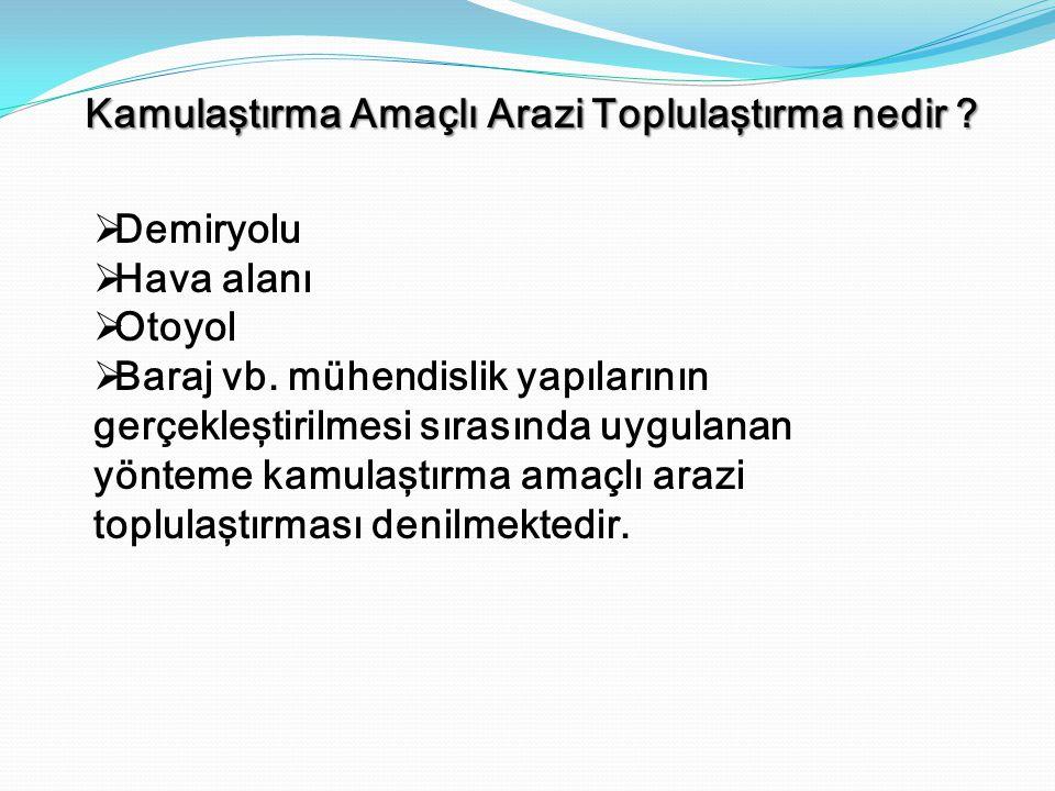 Türkiye'de kırsal mekânı iyileştirme amaçlı bir çok çalışma yürütülmektedir.