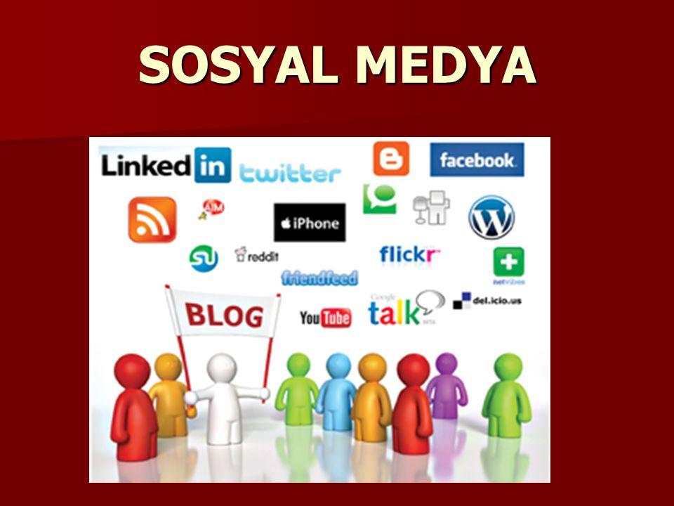 Bireylerin internet üzerinden birbirleriyle yaptığı diyaloglar ve paylaşımlar sosyal medyayı oluşturur.