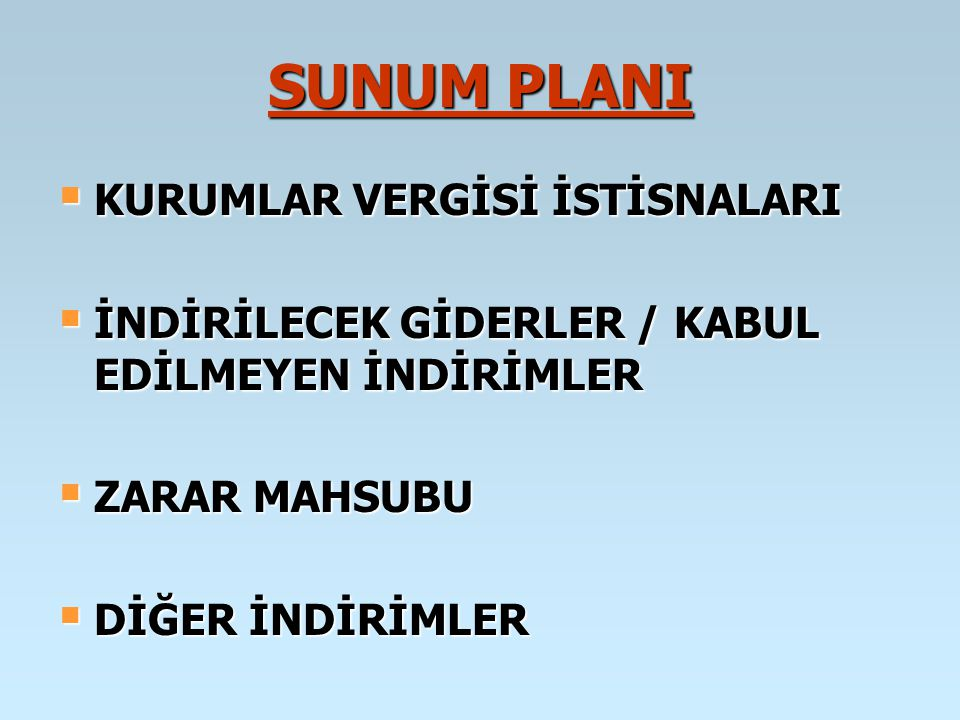 YURT DIŞI İŞTİRAK KAZANÇLARI İSTİSNASI (md.5/1-b) Kanunî ve iş merkezi Türkiye de bulunmayan anonim ve limited şirket niteliğindeki şirketlerin sermayesine iştirak eden kurumların, bu iştiraklerinden elde ettikleri iştirak kazançları, belli koşullar altında kurumlar vergisinden müstesnadır.