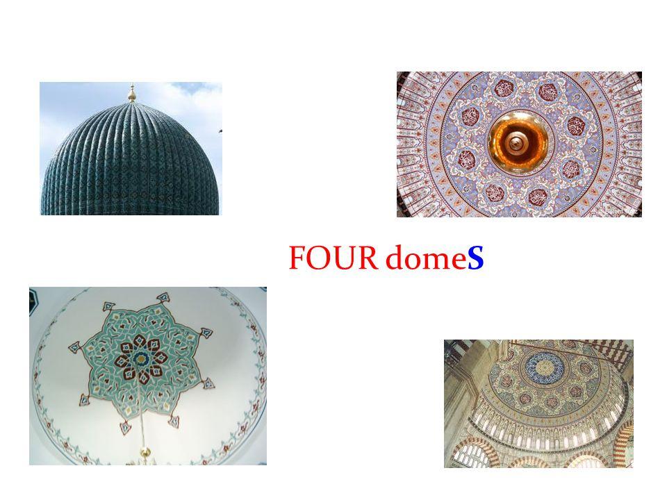 The Blue Mosque is ELEGANT.It is elegant. Elegant (adj): zarif, şık, sade ve yalın.