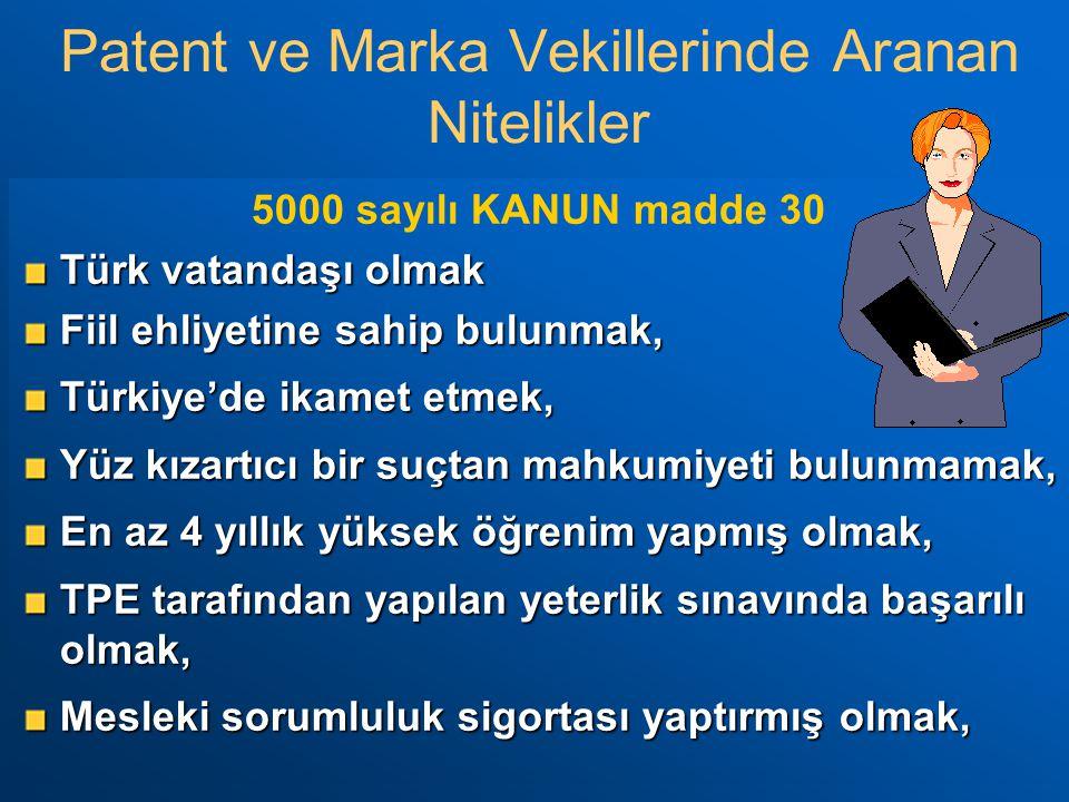 5000 sayılı KANUN madde 30 Türk vatandaşı olmak Fiil ehliyetine sahip bulunmak, Türkiye'de ikamet etmek, Yüz kızartıcı bir suçtan mahkumiyeti bulunmam