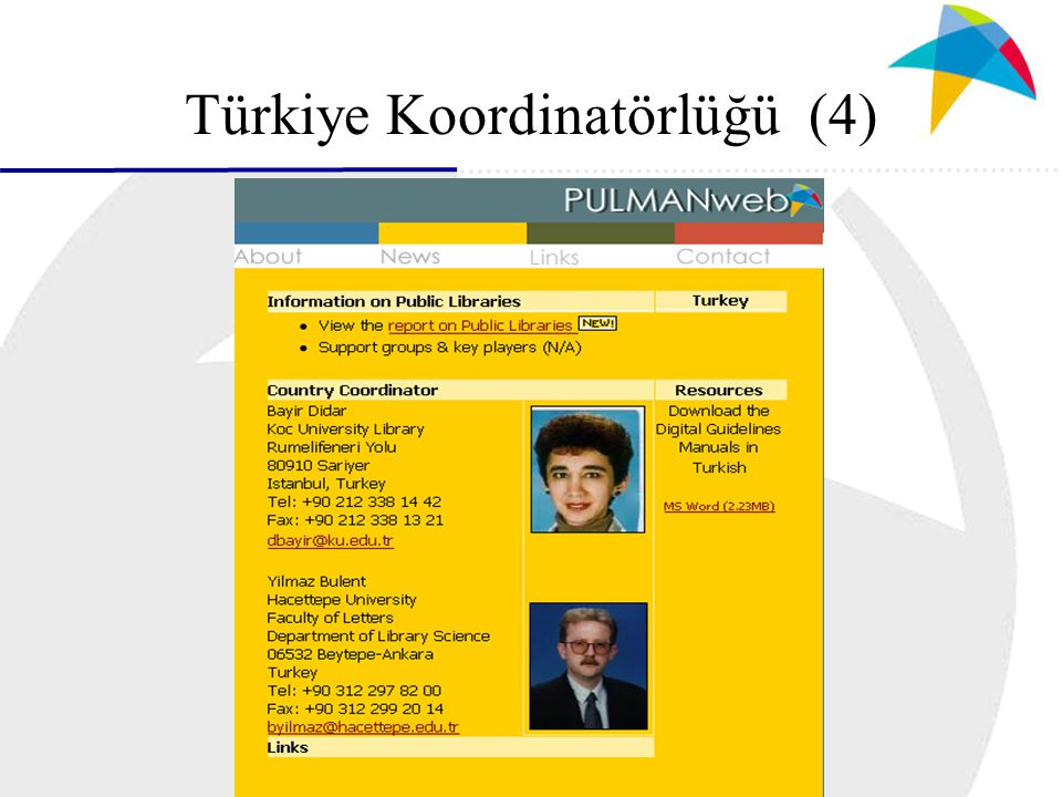 Türkiye Koordinatörlüğü (4)