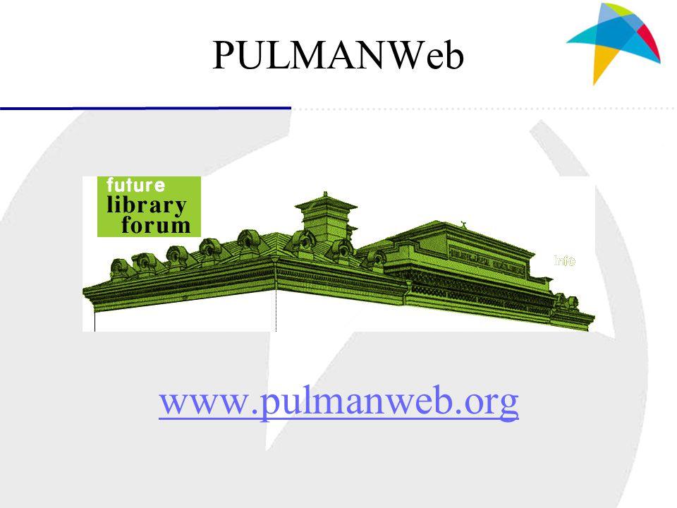 PULMANWeb www.pulmanweb.org