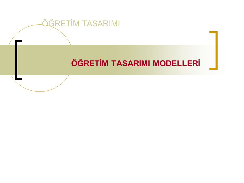 Smith ve Ragan Modeli