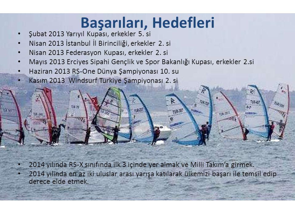 Resimde sporcumuzun yelkeninde görülen BMW logosu, Mayıs ayında İstanbul Boğazı'nda BMW sponsorluğunda düzenlenen Sailing Cup sırasında reklam amacı ile yapıştırılmıştır.