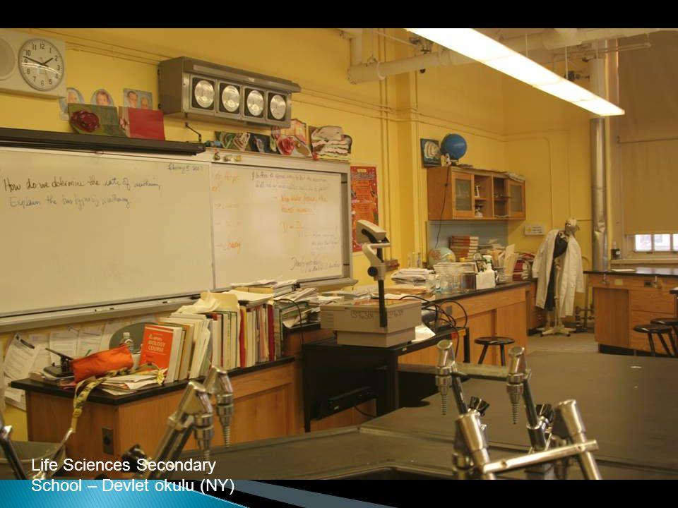 Life Sciences Secondary School – Devlet okulu (NY)
