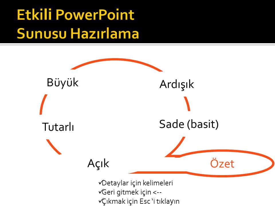 Mustafa S Ö ZBİLİR Atatürk Üniversitesi Kazım Karabekir Eğitim Fakültesi En iyi görünüm için PowerPoint 2001 veya sonrası tercih edilmeli Devam etmek için tıklayın ız