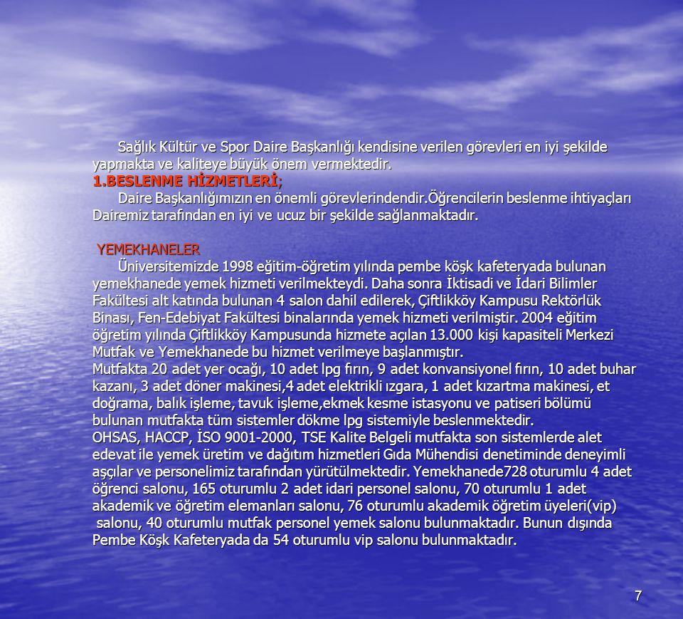 68 12- Çevre Bilinci Dairemiz hizmet verdiği her alanda çevre bilincine önem vererek hareket eder.