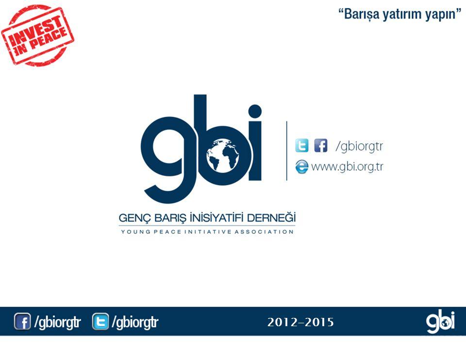Genç Barış İnisiyatifi Derneği (GBİ), 21 Eylül 2012 Dünya Barış Gününde resmi olarak faaliyete geçmiştir.